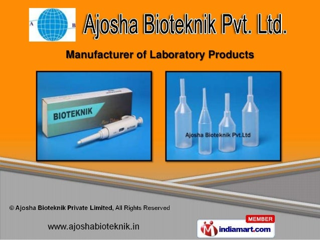 Manufacturer of Laboratory Products