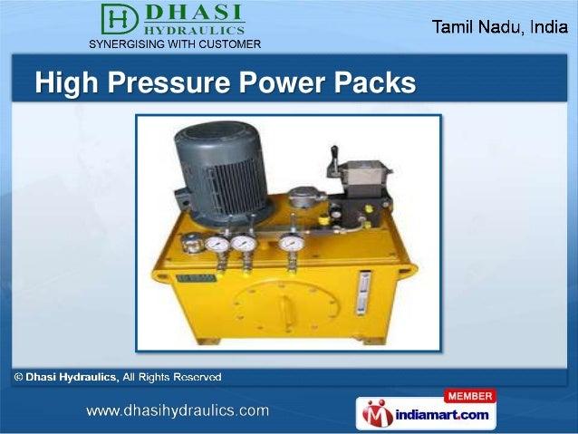 High Pressure Power Packs