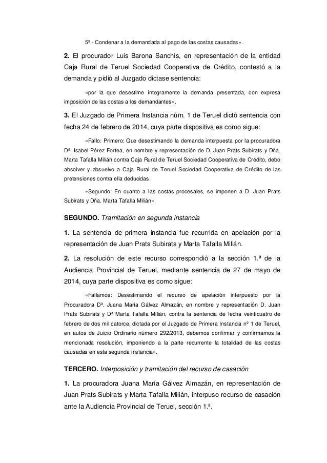 Tribunal supremo 7 de marzo de 2017 clausula suelo for Clausula suelo supremo