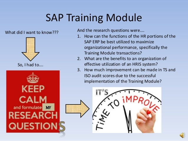 employee training - sap training module project and injection mold tr…