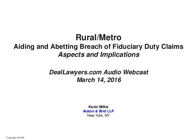 Aiding and abetting breach of fiduciary duty illinois primary where to buy bitcoins fast five