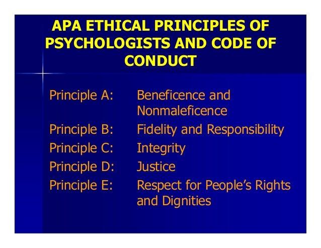 apa code of ethics 2018