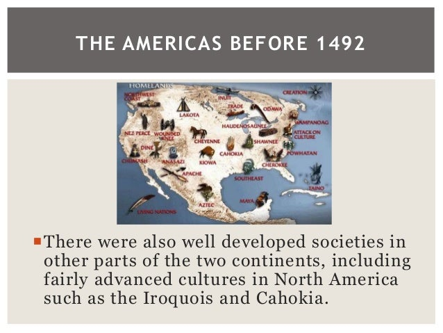 The Americas Before Columbus - Us wildlife population map 1492