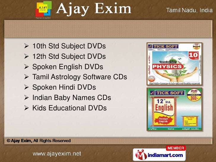 Ajay Exim Tamil Nadu India