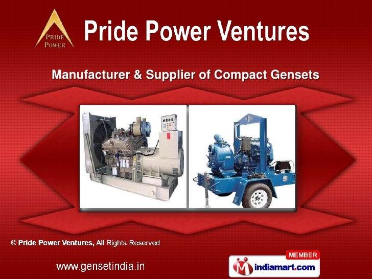 Manufacturer & Supplier of Compact Gensets