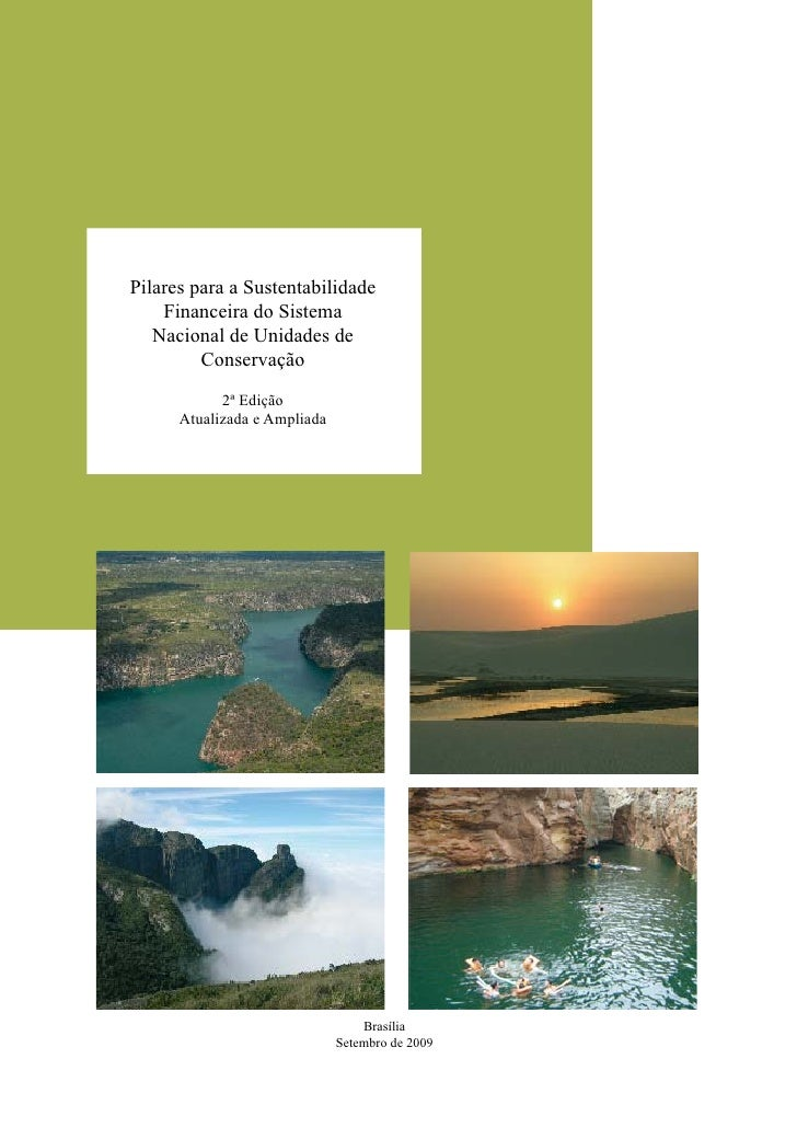 Pilares para a Sustentabilidade de Unidade de Conservação