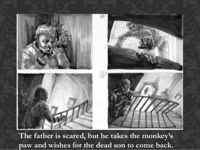 the monkeys paw compared with the third wish Read the monkeys paw and the third wish, mystical stories with similar  morals,  keep track of ideas that are being compared and contrasted in a text.