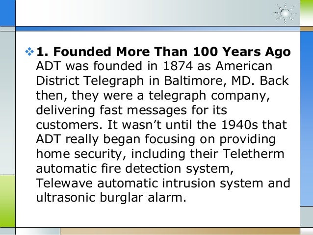 14 Adt Security Facts You Didnt Know