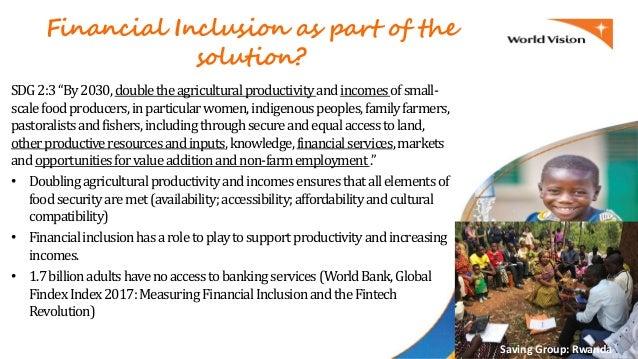 Accelerating Progress to Ending Hunger & Malnutrition: The Power of Savings for Transformation Groups (S4T) Slide 3