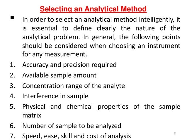 define analytical