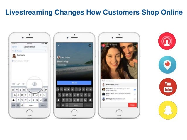 Livestreaming Changes How Customers Shop Online