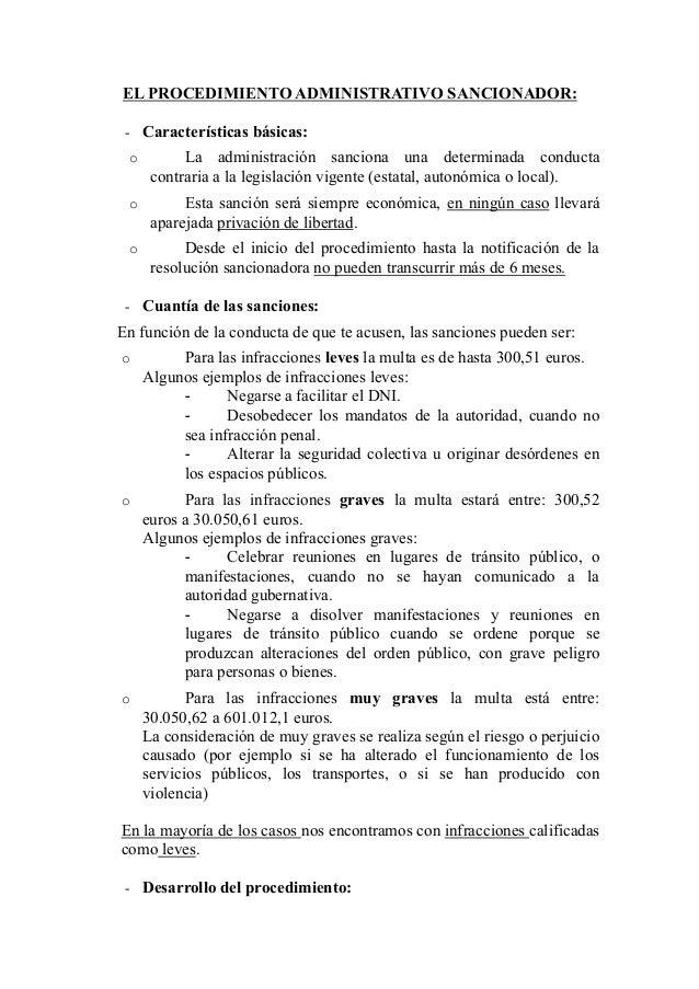 14b.  procedimiento administrativo sancionador