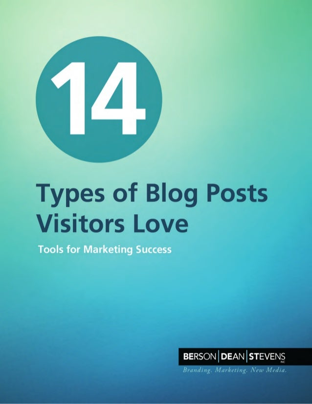 Blogs help grow awareness and perception of your brand, while establishinga warmer tone of voice. They help your organic (...
