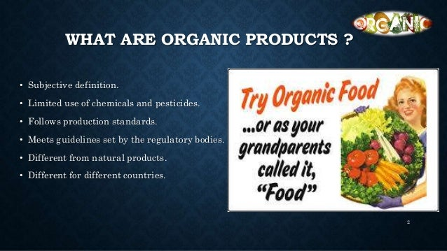 Global Organic Food Market Geography Segmentation