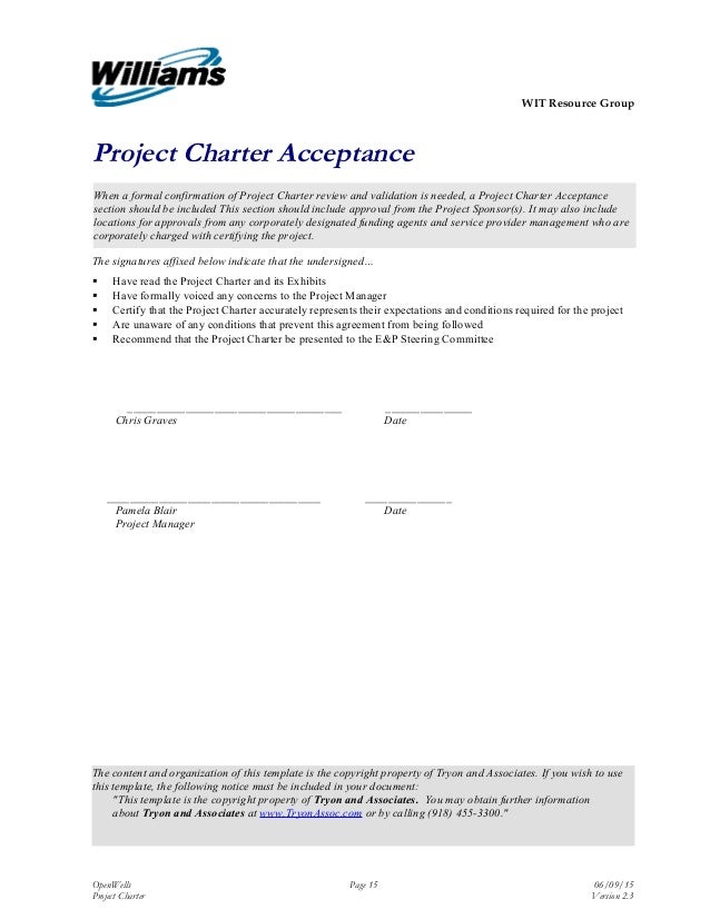 Charter Version 23 18 WIT Resource Group