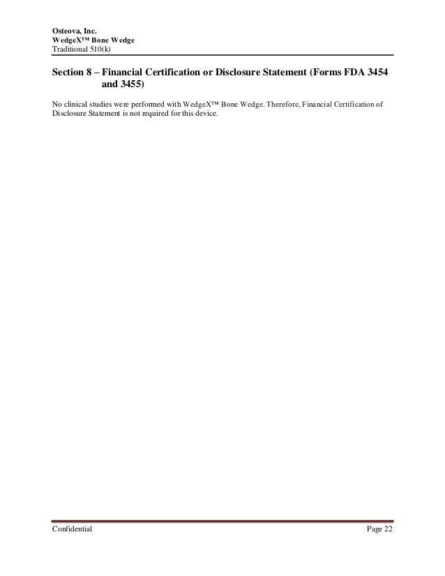 510(k) Pre-Market Notification Project