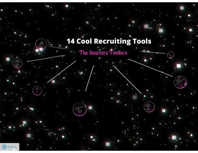 14 cool recruiting tools - @BillBoorman