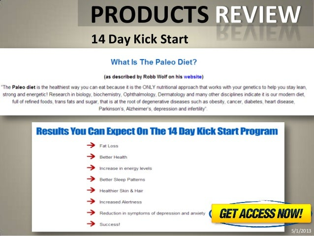 14 day kick start   how to lose weight fast and easy