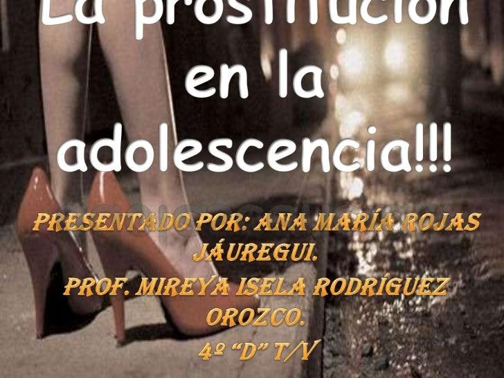 fufurufa definicion prostitución juvenil