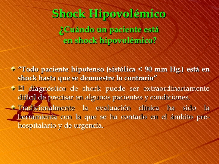 14 diagnostico y manejo del shock