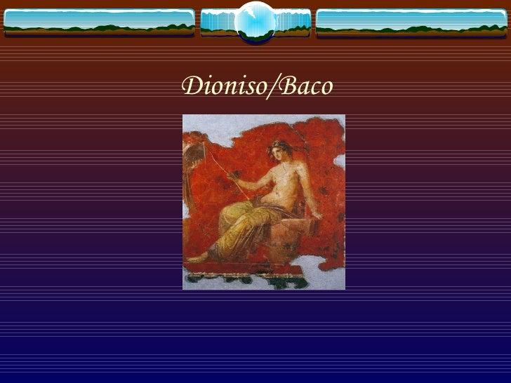 Dioniso/Baco