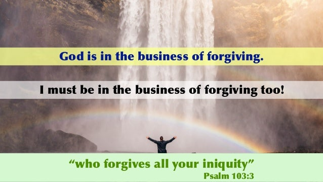 Do Not Forgive Them! Slide 3