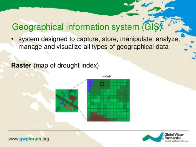 Geographical information system (GIS) • system designed to capture, store, manipulate, analyze, manage and visualize all t...