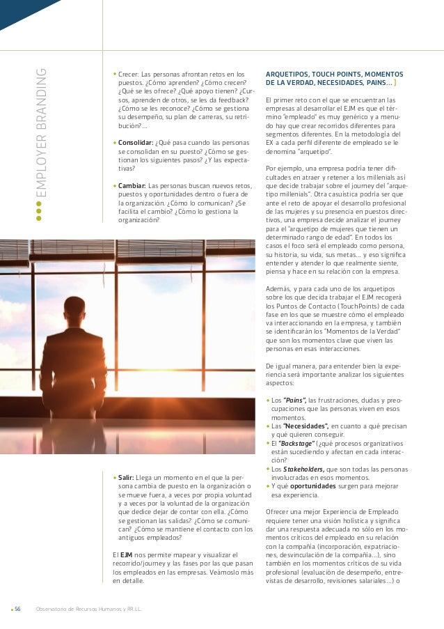 Observatorio de Recursos Humanos y RR.LL.56 ¬¬Crecer: Las personas afrontan retos en los puestos. ¿Cómo aprenden? ¿Cómo cr...