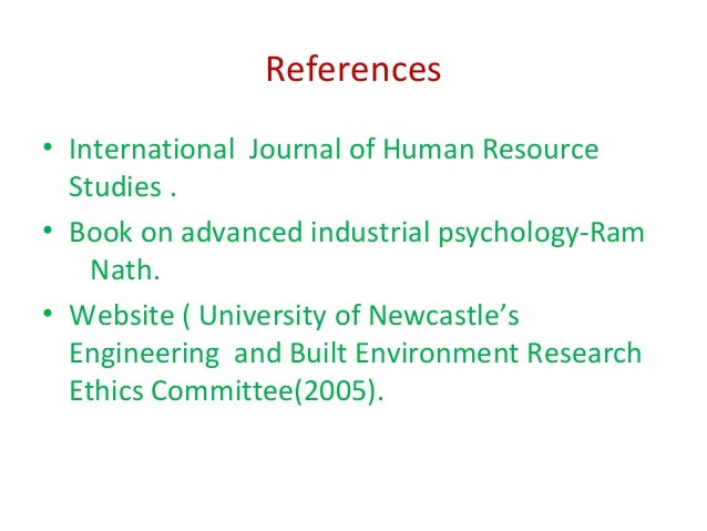 Industrial and Organizational Psychology – VII