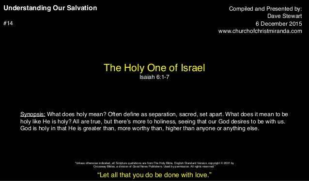 the holy one of israel in The holy one of israel church 167 likes 11 talking about this the holy one of israel church is non denominational, vibrant, word based, holy spirit.