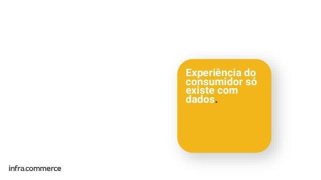 Experiência do consumidor só existe com dados.