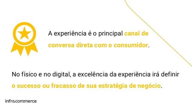 A experiência é o principal canal de conversa direta com o consumidor. No físico e no digital, a excelência da experiência...