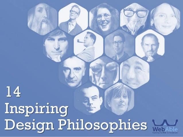 14 Inspiring Design Philosophies