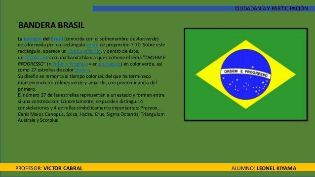 brasil bandera identidad cultural significado su