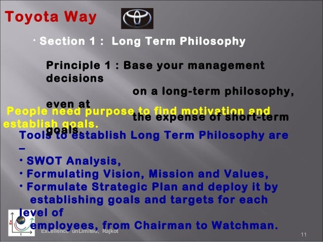 the toyota way 14 management principles What is the toyota way  how does lean process improvement work with agile project management the 14 principles of the toyota way.