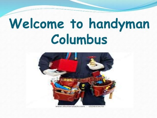 Welcome to handyman Columbus