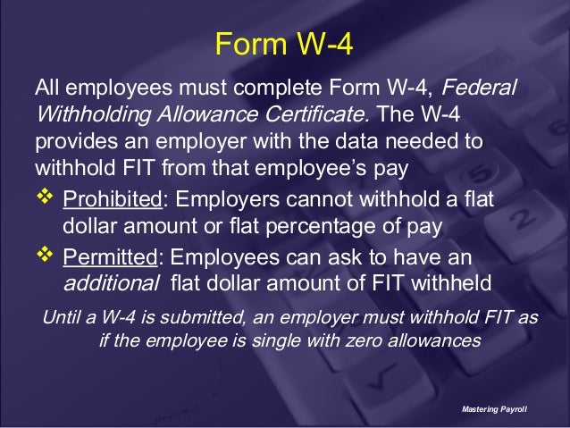 what are acceptable forms of payment for payroll