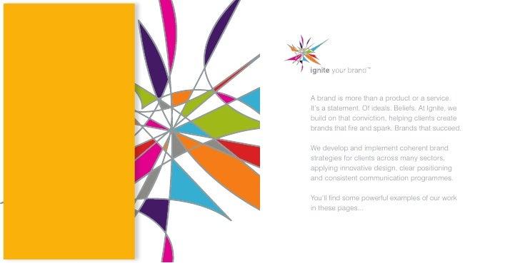 Ignite Your Brand Brochure 2007 Slide 2
