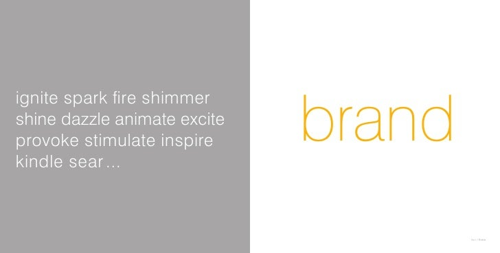 Ignite Your Brand Brochure 2007 Slide 3