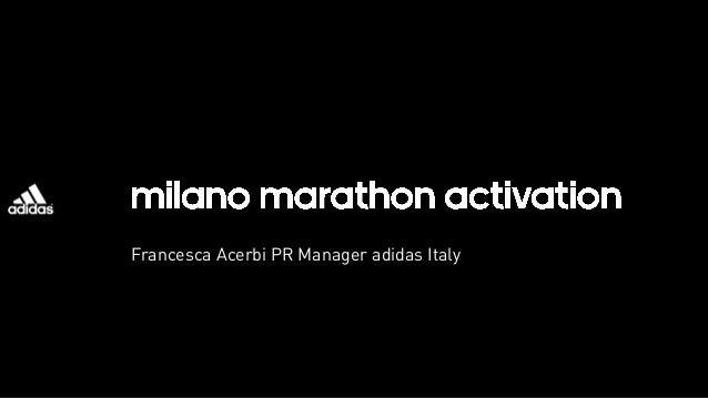 Francesca Acerbi PR Manager adidas Italy