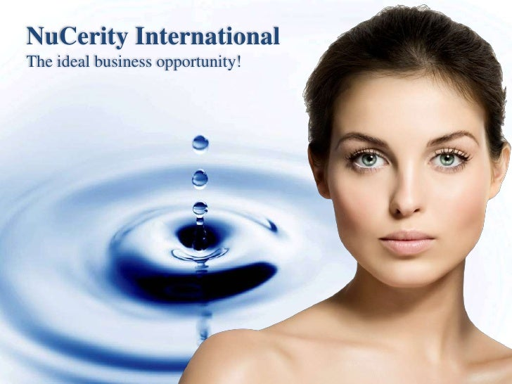NuCerity InternationalThe ideal business opportunity!<br />