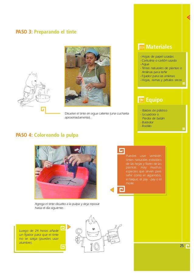 Gu a de proyecto papel artesanal - Guia para construir ...