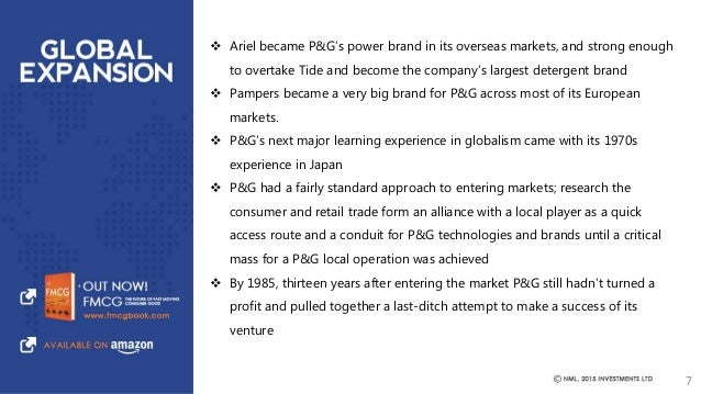business history of p g Historical dividend payout and yield for procter & gamble (pg) since 1972  the  procter & gamble company is engaged in the manufacture and sale of a.