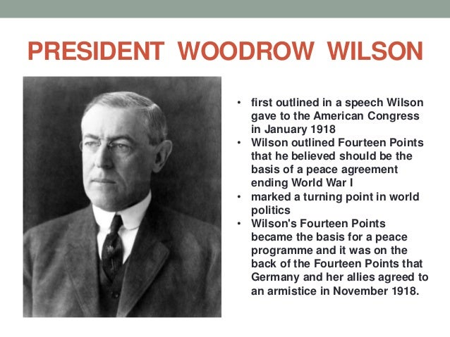 wilsons fourteen points after ww1 What was woodrow wilson's vision of the world after the great war  wilson and the post wwi world  evaluate wilson's fourteen points, .
