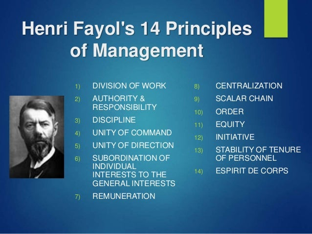 criticism of henri fayol s concepts of management Criticism fayol's theory has been  henri fayol's contribution to the  made significant contributions to the management concepts and is considered as.
