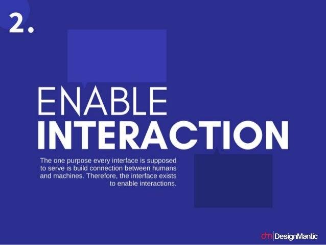 14 Principles Of User Interface Design