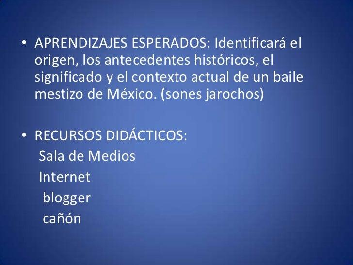 """Conocer y apreciar las características del Son Jarocho del Puerto de Veracruz, después de observar el video """"Son"""" de la co..."""