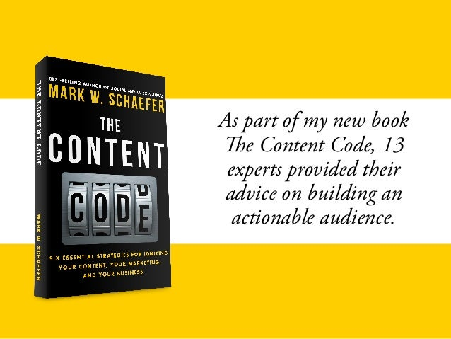Secrets to building an actionable audience Slide 3