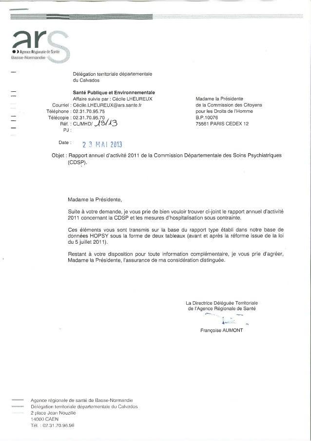 14 rapport activité cdsp 2011