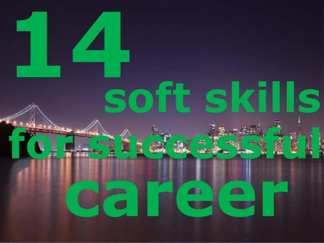 LOGO 14soft skills for successful career